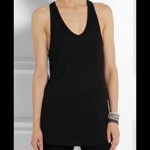 Sheer Striped Tank RacerBack Casual Tired Relaxed